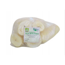 Aipim Branco Orgânico Higienizado (Congelado)