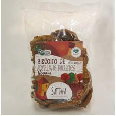 Biscoito Vegano de Aveia e Nozes Orgânico 330g