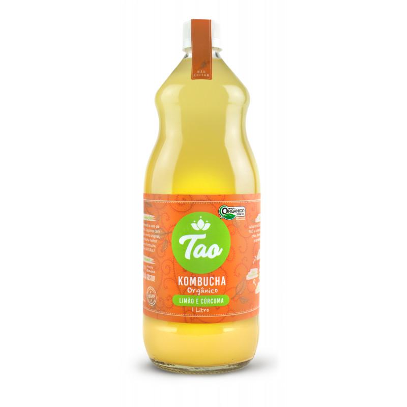 Kombucha TAO Limão e Cúrcuma